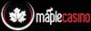 maple casino online logo