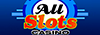 all slots casino online logo