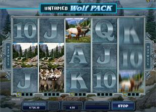 Untamed Wolf Pack Slot Machine