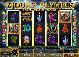 Mount Olympus Slot Machine