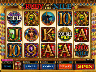Ruby of the Nile Slot Machine