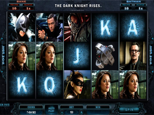 The Dark Knight Rises Slot Machine