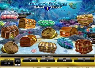 Mermaids Millions Treasure Bonus