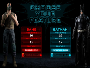 The Dark Knight Rises Free Spins Modes