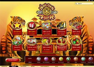 Golden Tiger Casino Lobby