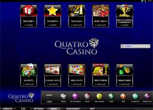 Quatro Casino Lobby