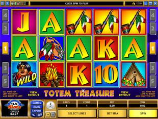 Totem Treasure Slot Machine