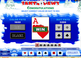 Santa Paws Gamble Feature