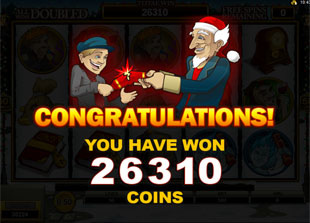 Scrooge Free Spins Prize