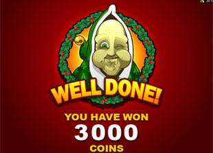 Scrooge Bonus Game Prize
