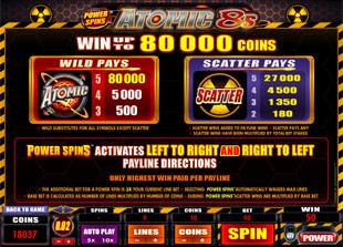 Atomic 8s Bonus