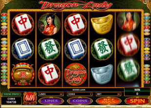Dragon Lady Slot Machine