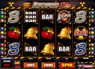 Atomic 8s Slot Machine