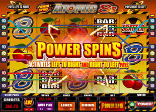 Atomic 8s Power Spins