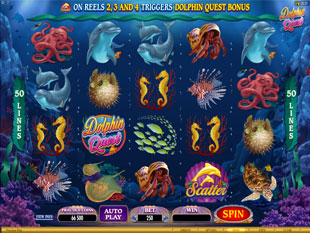 Dolphin Quest Slot Machine