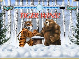 Tiger vs. Bear Bonus Game
