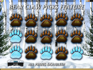 Tiger vs. Bear Slots Paw