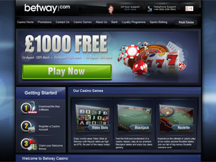 Betway Casino Home