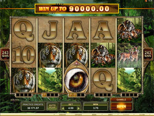 Untamed Bengal Tiger Slot Machine