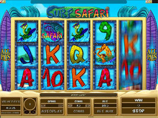 Surf Safari Slot Machine