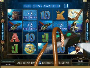 Leagues of Fortune Free Spins