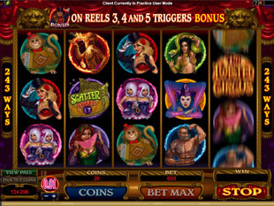 The Twisted Circus Slot Machine