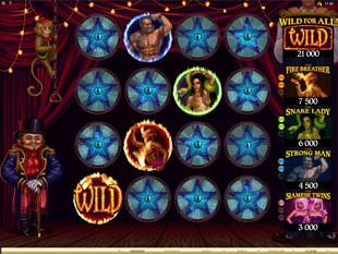 The Twisted Circus Bonus Game