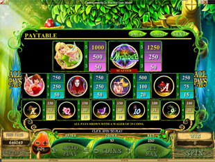 Mystique Grove Slots Payout
