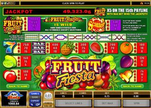Fruit Fiesta 5-Reels Slots Payout