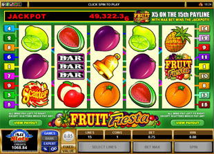Fruit Fiesta 5-Reels Slot Machine