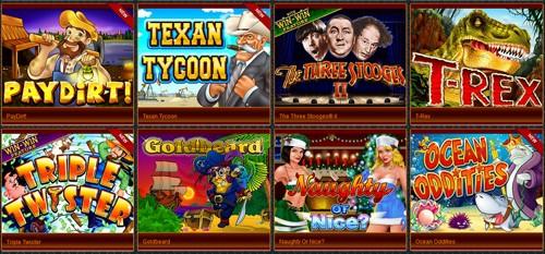 Mobile Casino Lobby