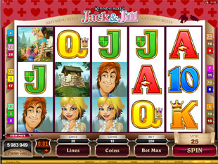 Rhyming Reels - Jack and Jill Slot Machine