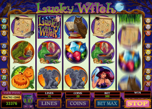 Lucky Witch Slot Machine