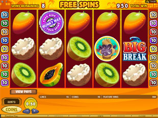 Big Break Free Spins