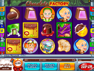 Chocolate Factory Slot Machine