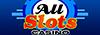 all slots casino online logo